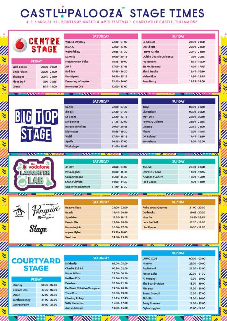 Castlepalooza-Stage-Times-2017