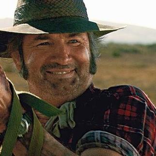 John Jarratt playing Mick Taylor