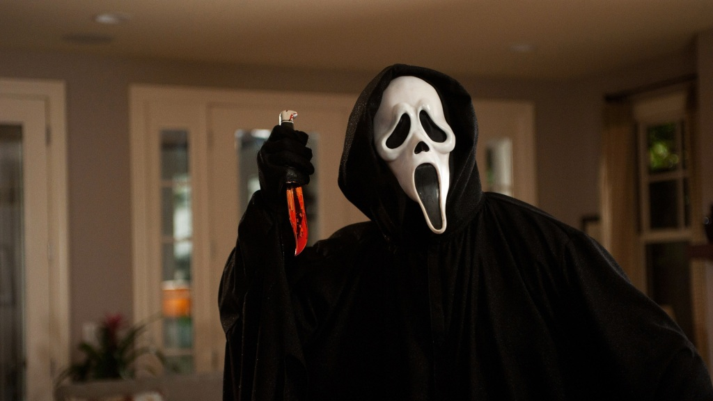 Wes Craven's 'Scream' starring Drew Barrymore and Ghostface