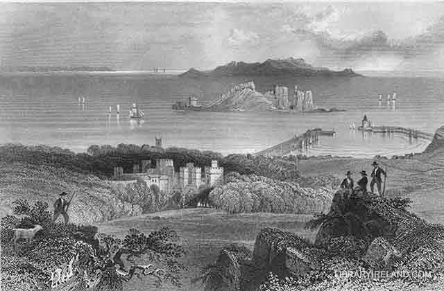 Howth Castle Ireland's Eye and Lambay