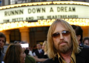 Tom Petty at the Peter Bogdanovich Premier for Tom Petty and the Heartbreakers: Runnin' Down A Dream