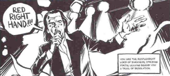 Nick Cave: Mercy On Me by Reinhard Kleist