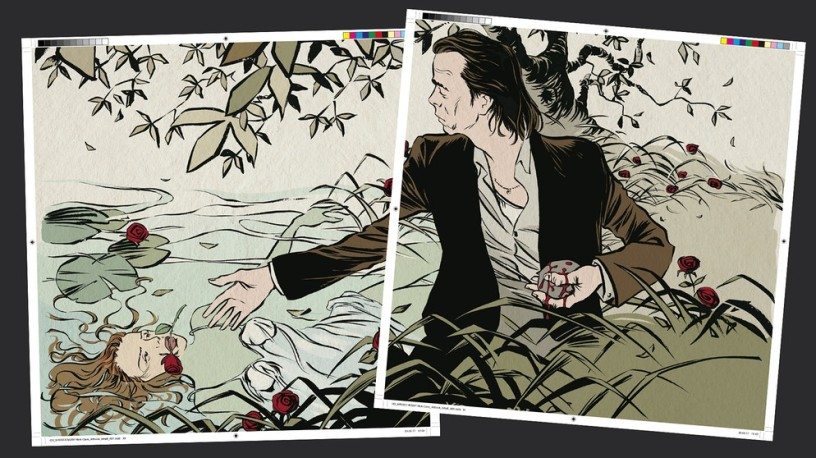 Reinhard Kliest, Nick Cave: Mercy On Me graphic novel
