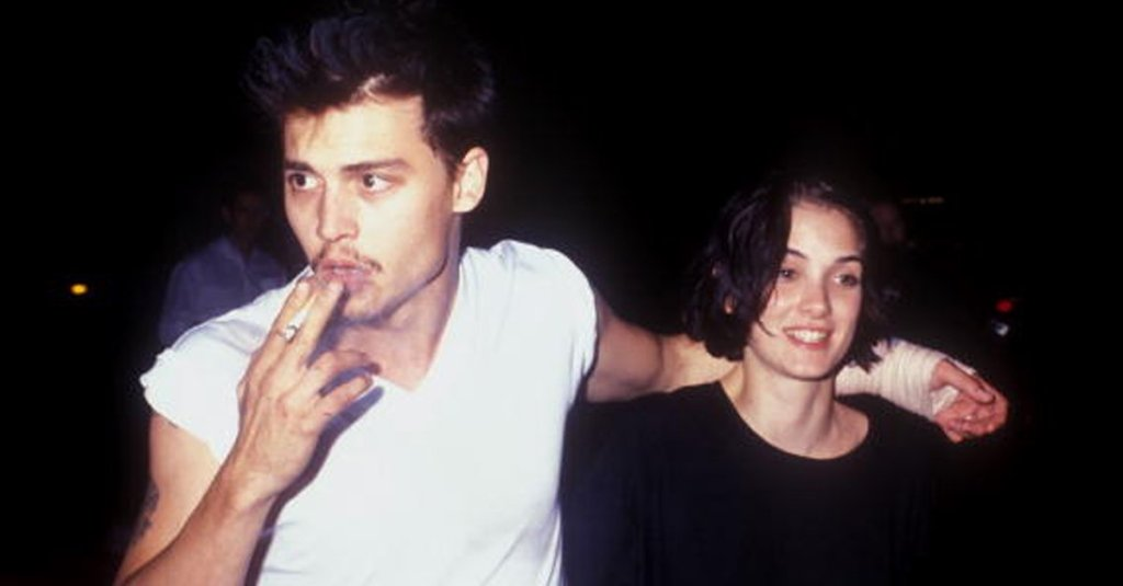 Johnny Depp and Winona Ryder featured on 7deadlythings