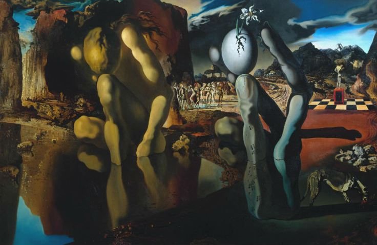Metamorphosis of Narcissus by Salvador Dalí featured on 7deadlythings