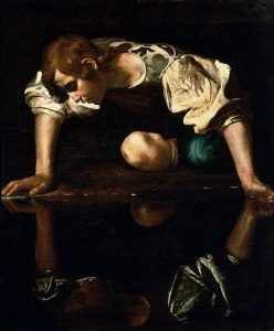Narcissus by Caravaggio featured on 7deadlythings