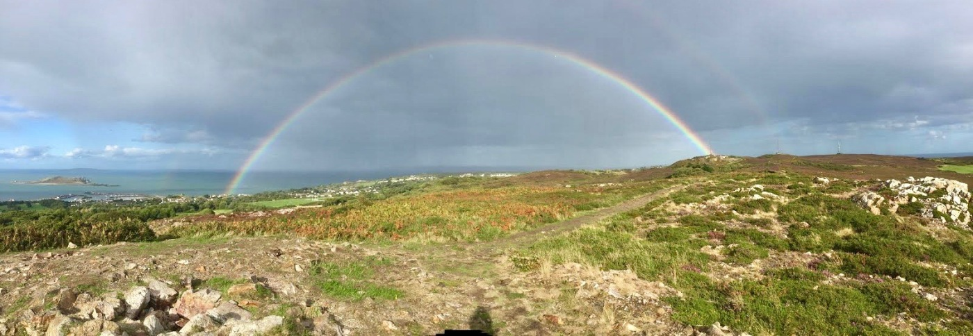 Double Rainbow in Howth by 7deadlythings